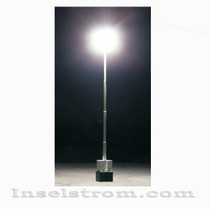 Mobiler Lichtmast mit Notstromfunktion